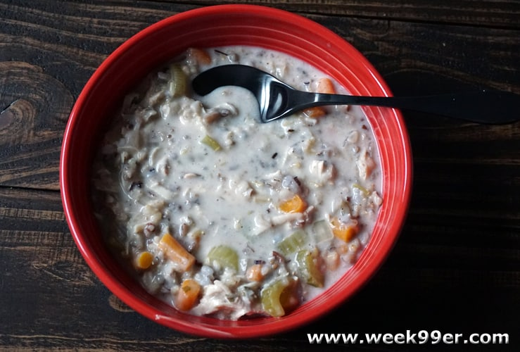 slow cooker chicken and wild rice soup recipe