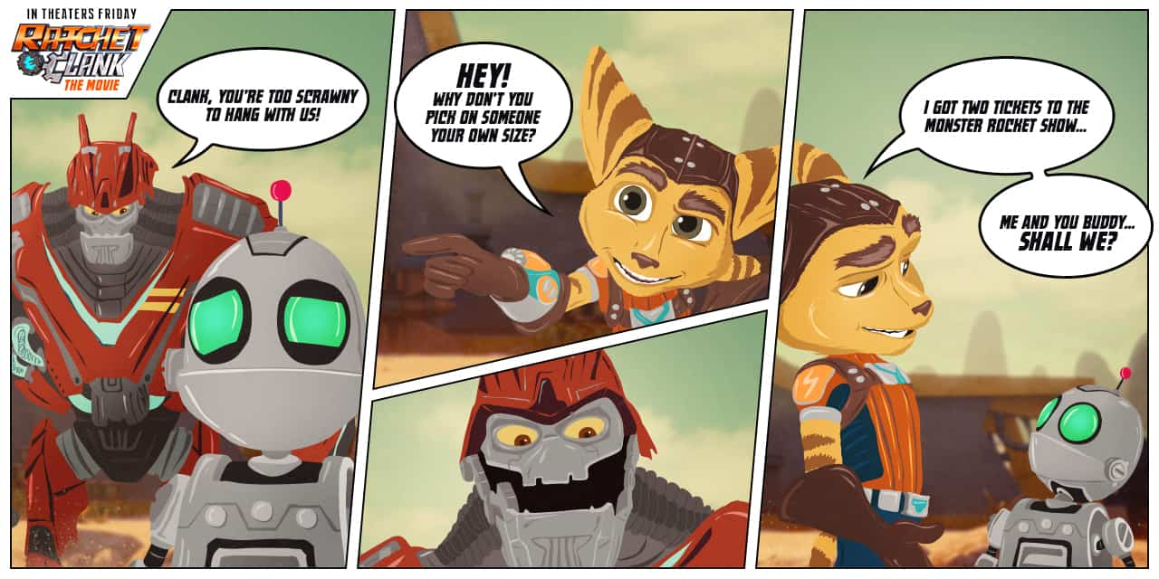 Fun New Ratchet Clank Comics Offer Life Lessons Ratchetandclank