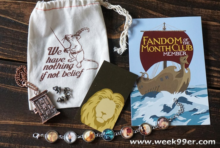 April Fandom of the Month Box