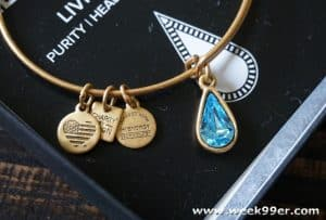 Surprise Mom with a Living Water Charm Bangle