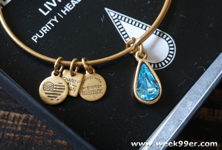 alex and ani living water bangle review