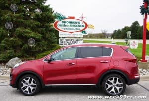 Travel in style with the 2017 Kia Sportage SX
