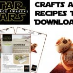Star Wars: The Force Awakens Bonus Clips + Crafts!