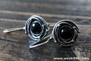 Go from Day to Night with Vintage Style Sterling Silver Earrings