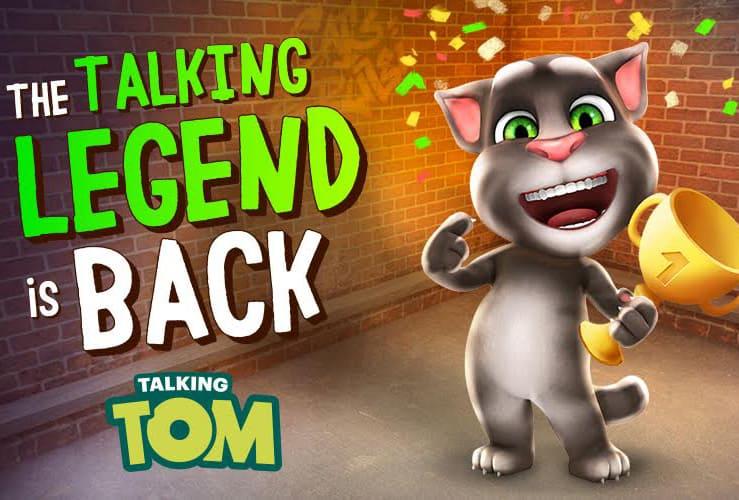 talking tom app release