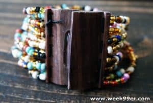 Make a Difference with a Mango Wood Beaded Bracelet and World Vision
