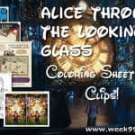 New Alice Through the Looking Glass Coloring Sheets & Clips #DisneyAlice #Throughthelookingglass