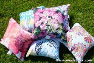 Dress Up Your Patio with Kess In House Outdoor Pillows