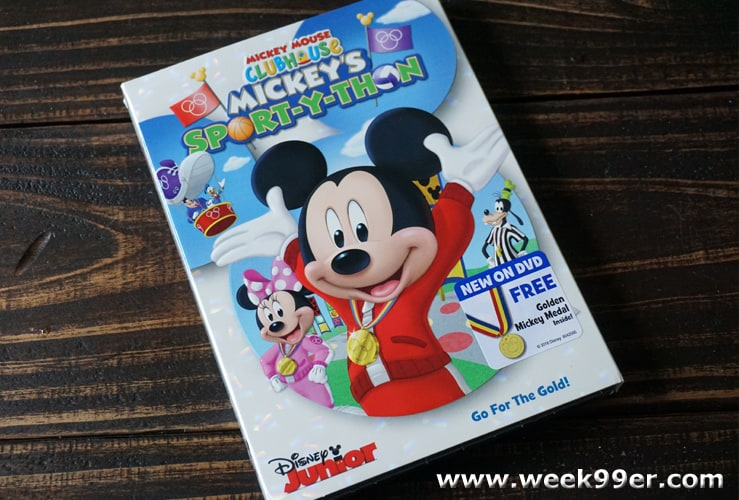 mickey's sport-y-thon dvd review