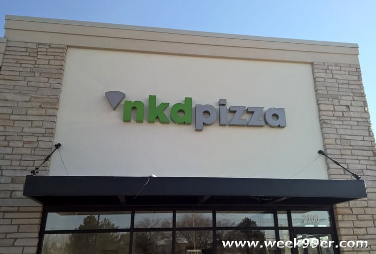 Allergen Free Dining at NKD Pizza