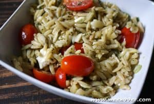 Orzo with Feta Cheese Pasta Dish Recipe