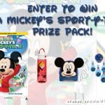 Enter to win a Mickey's Sport-y-Thon Prize Pack!