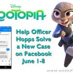 Help Officer Hopps Solve Crimes on Facebook #zootopia