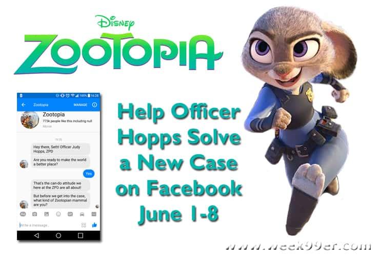 zootopia game facebook