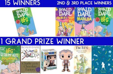 Enter to win a Giant BFG Prize Pack #theBFG