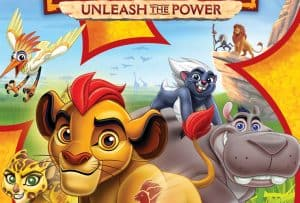 The Lion Guard Unleash The Power is Coming to DVD!