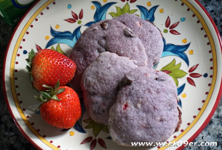 strawberry chocolate chip cookie recipe