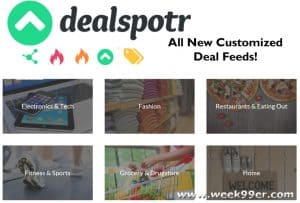Shop Customized Deals Daily with Dealspotr