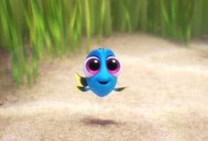 Fall in Love with Dory as a Baby Fish #FindingDory