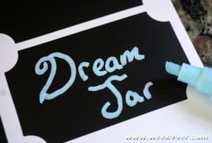 Dream Jar DIY and Printable