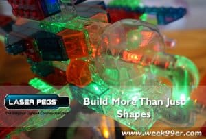 Build More than Just Shapes with Laser Pegs