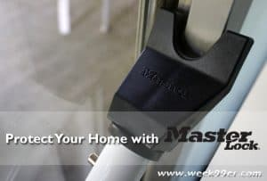 Protect Your Home with Master Lock, Home Safety Tips + Giveaway