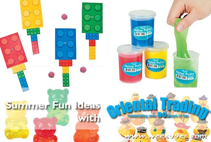 oriental summer toys ideas