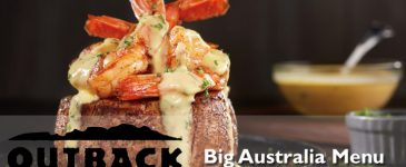 Introducing the Big Australia Menu at Outback Steakhouse + Giveaway