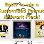 Enter to win A Customized Peanuts Artwork for Your Home!