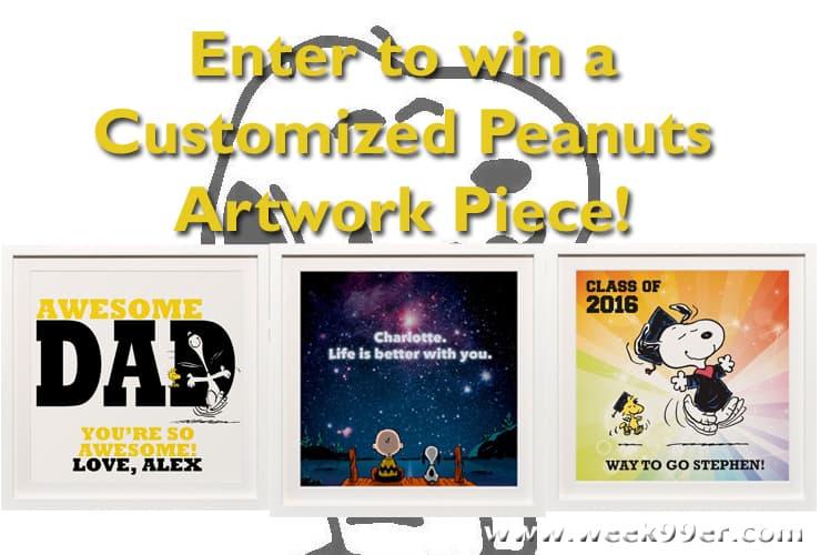 peanuts artwork giveaway