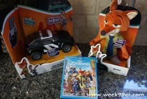 TOMY Zootopia toy review