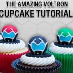 Voltron Cupcake Tutorial For Your Next Party #Voltron