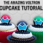 Voltron Cupcake Tutorial For Your Next Party #Voltron