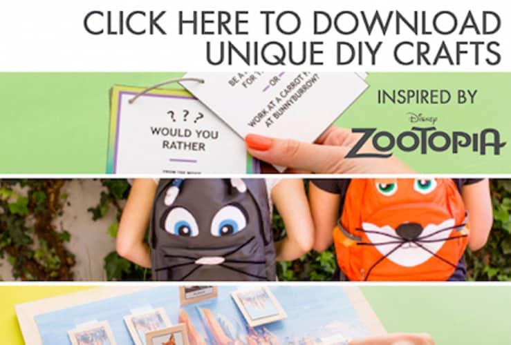 zootopia DIYs