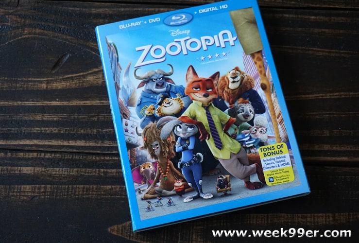 zootopia dvd review