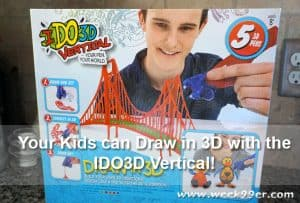 Your Kids can Draw in 3D with the IDO3D Vertical Pen Set!