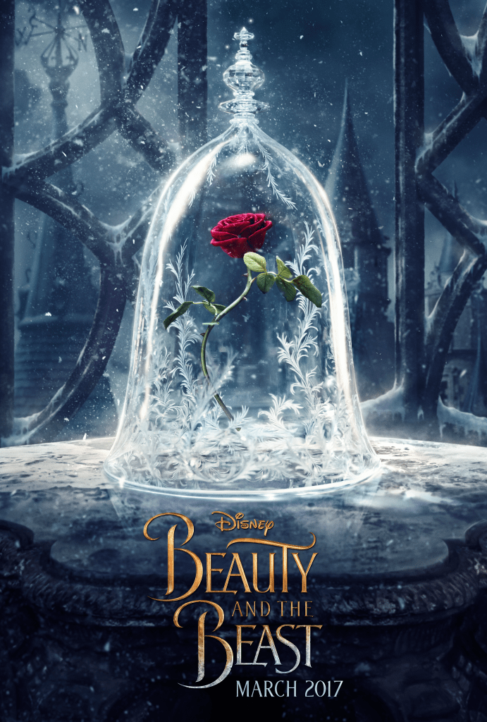 beauty fand the beast poster release