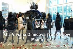Gia Viviana Dimicova Reveals Her New Designs at Miami Trunk Show