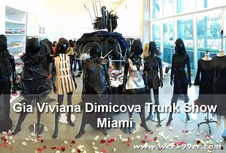 Gia Viviana Dimicova Trunk Show Miami