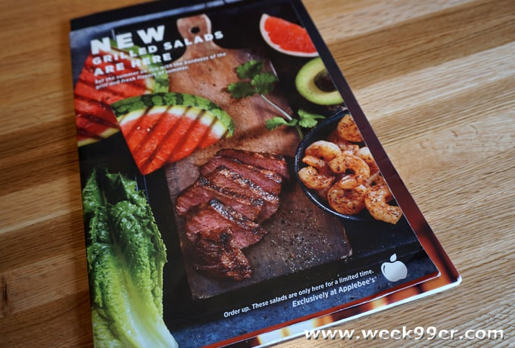 Applebee's Wood Fired Grill salads review