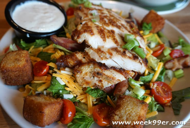 graphic about Applebee's Printable Menu referred to as Applebees Launches their Wooden Fired Grill Salad Menu +