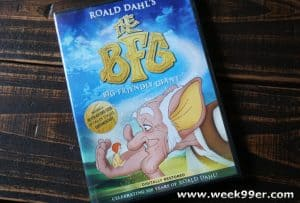 The Animated Version of Roald Dahl's The BFG Remastered and Re-released and Now Available