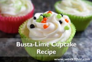 Busta Lime Cupcakes Recipe #DreamWorks #Home