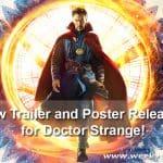 New Trailer and Poster Released for Doctor Strange! #DoctorStrange #SDCC