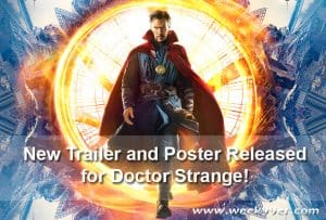 New Trailer and Poster Released for Doctor Strange! #DoctorStrange #SDCC