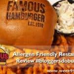 Famous Hamburger Brings Halal and Gluten Free Options to Metro Detroit #Bloggersdoburgers