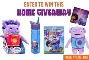 Enter to win a DreamWorks Home Prize Package! #DreamWorks #Home