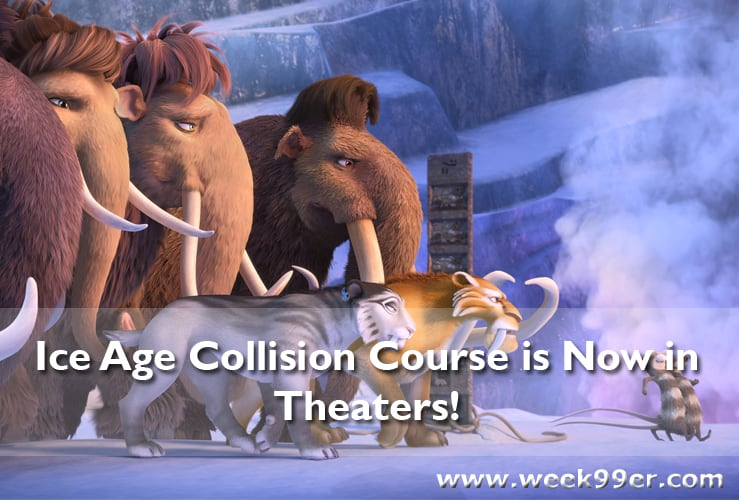 Ice Age Collision Course is Now in Theaters! #Iceage #Collisioncourse