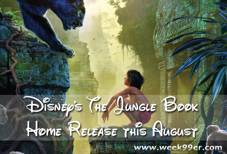 jungle book dvd release date