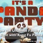 Throw the Ultimate Family Movie Night with Kung Fu Panda 3 #kungfupanda